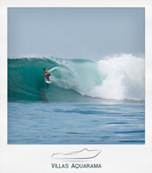 Surfing in bali - hyatt reef in sanur