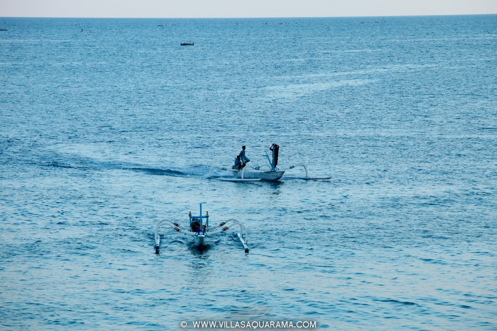 fishing and snorkeling on old balinese boat