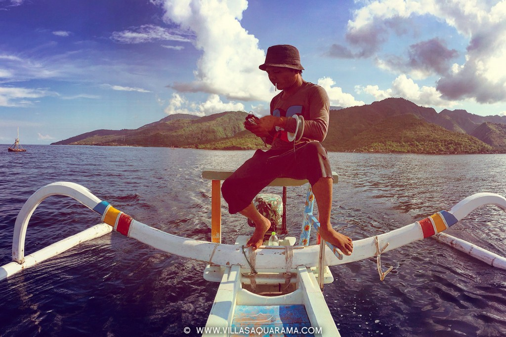 fishing and snorkeling with balinese local captain