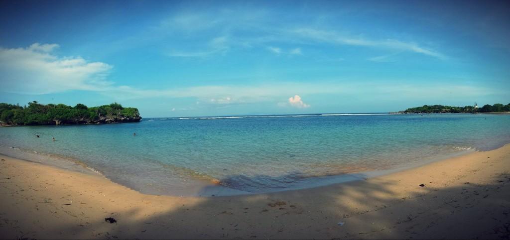 Nusa Dua, Bali Bay Beach : one of the most beautiful beach in Bali